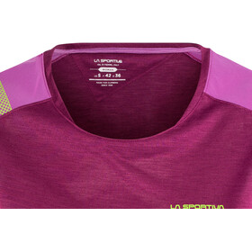 La Sportiva TX Combo Evo T-shirt manches courtes Femme, plum/purple